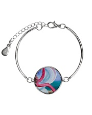 Beach Beauty jewelry Metallic Circle Bracelet thumbnail