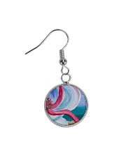 Beach Beauty jewelry Circle Earrings thumbnail