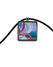 Beach Beauty jewelry Cord Rectangle Necklace thumbnail