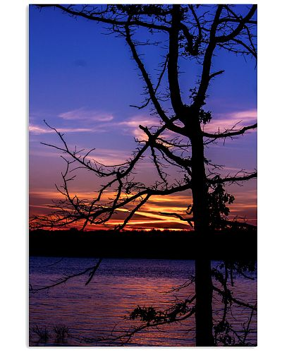 Sunset Silhouette poster print