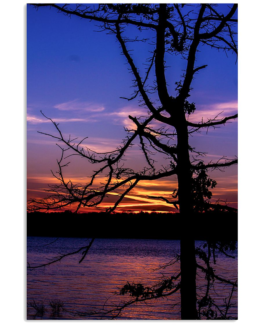 Sunset Silhouette poster print 24x36 Poster