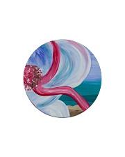 Beach Beauty home  Circle Magnet thumbnail