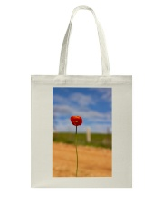 Red Poppy accessories Tote Bag thumbnail