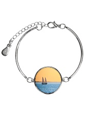 Florida Sunset 5 jewelry Metallic Circle Bracelet thumbnail