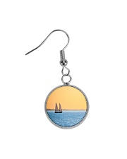 Florida Sunset 5 jewelry Circle Earrings tile