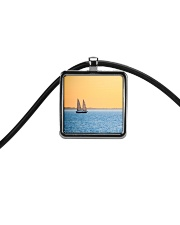 Florida Sunset 5 jewelry Cord Rectangle Necklace thumbnail