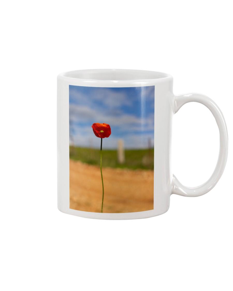 Red Poppy home  Mug