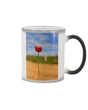 Red Poppy home  Color Changing Mug thumbnail