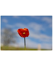 Red Poppy home  Rectangle Cutting Board thumbnail