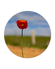 Red Poppy home  Circle Coaster thumbnail