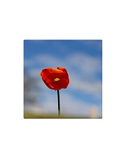 Red Poppy home  Square Magnet thumbnail