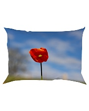 Red Poppy home  Rectangular Pillowcase thumbnail