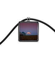 Blood Moon jewelry Cord Rectangle Necklace thumbnail