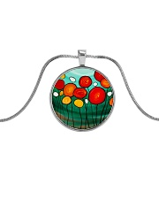 Sweet Sent jewelry Metallic Circle Necklace thumbnail