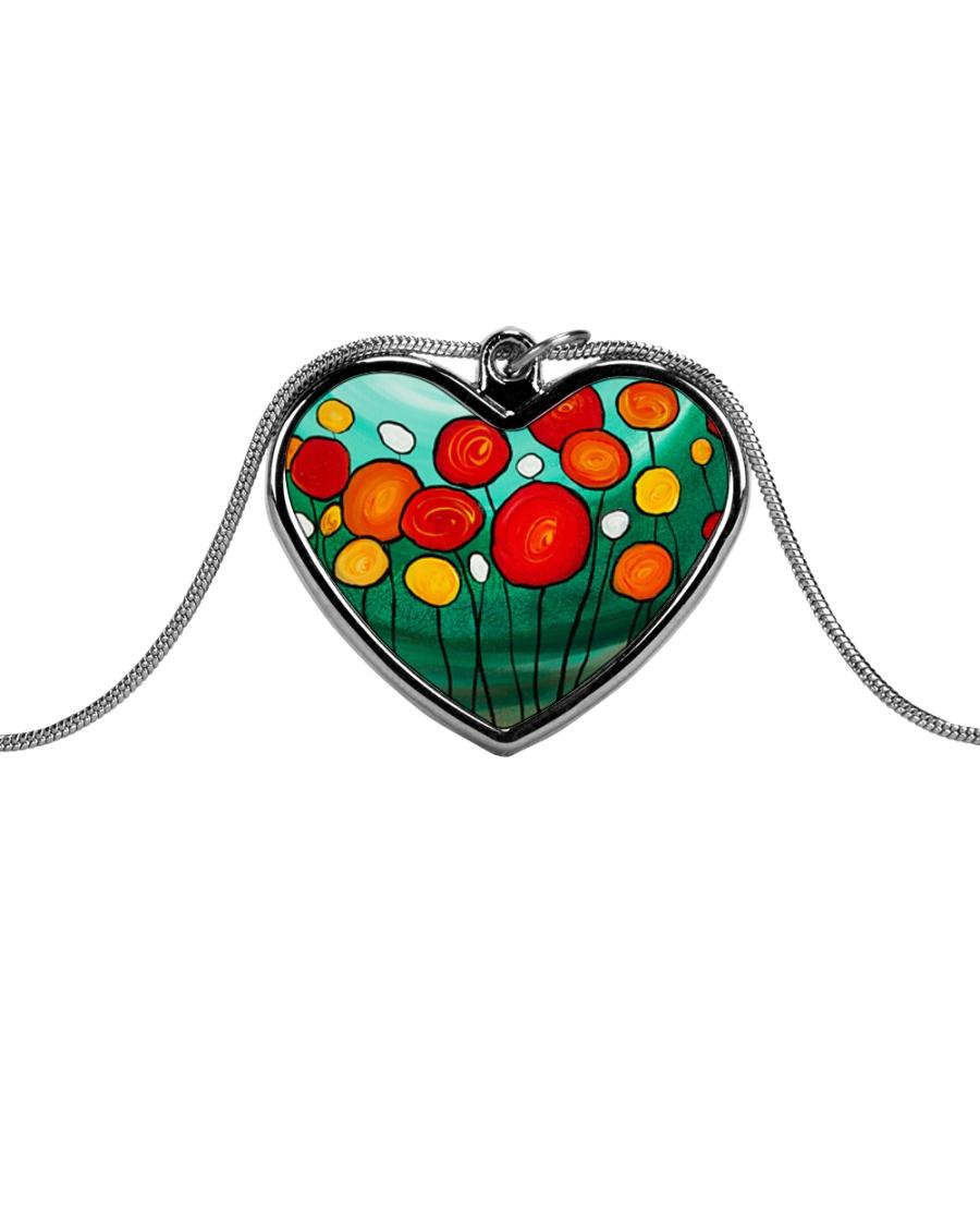 Sweet Sent jewelry Metallic Heart Necklace