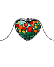Sweet Sent jewelry Metallic Heart Necklace front