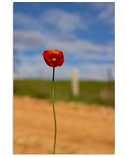 Red Poppy poster print 11x17 Poster front