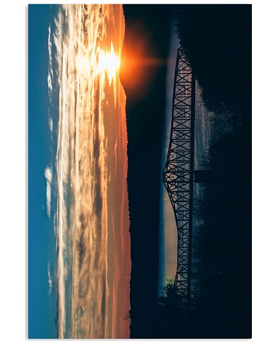 Fire Sky Crossing poster print