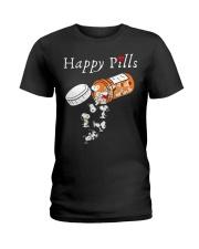 Happpy Pills Ladies T-Shirt front