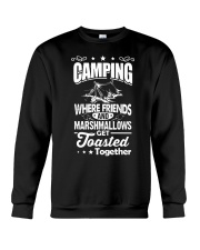 Camping - Friends - Marshmallows Crewneck Sweatshirt tile