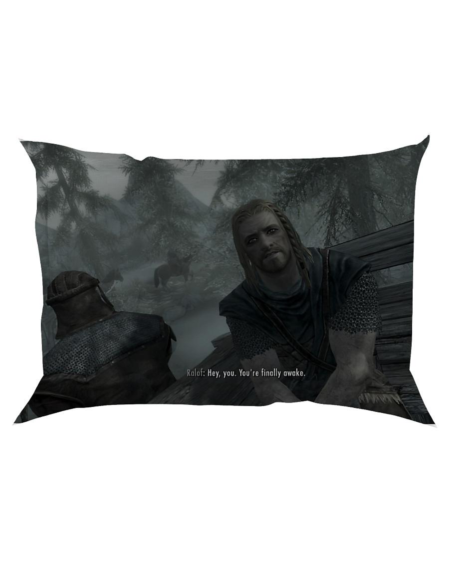 You're finally awake Pillow Rectangular Pillowcase Rectangular Pillowcase