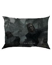 You're finally awake Pillow Rectangular Pillowcase Rectangular Pillowcase front