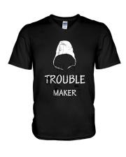 TROUBLE MAKER TSHIRT V-Neck T-Shirt thumbnail
