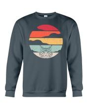 Maine Coon Cat Retro Style Crewneck Sweatshirt thumbnail