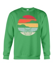 Maine Coon Cat Retro Style Crewneck Sweatshirt front