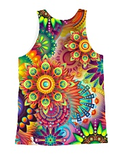 Colorful Abstract All Over Shirt All-over Unisex Tank back