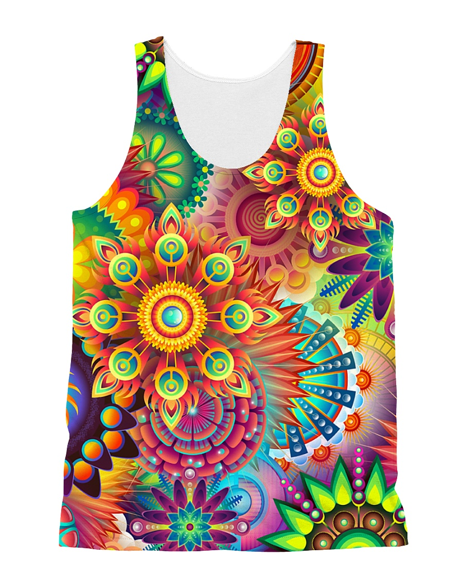 Colorful Abstract All Over Shirt All-over Unisex Tank