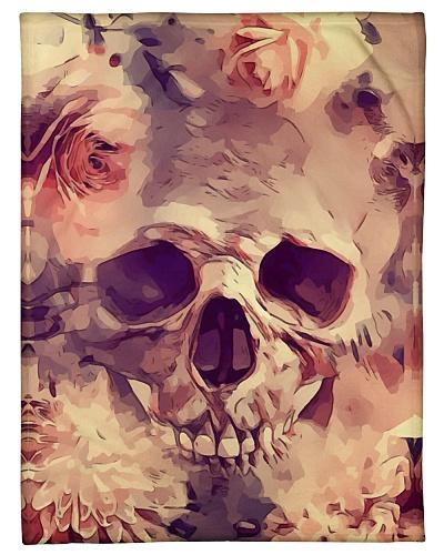 Fleece Blankets With Cute Skull