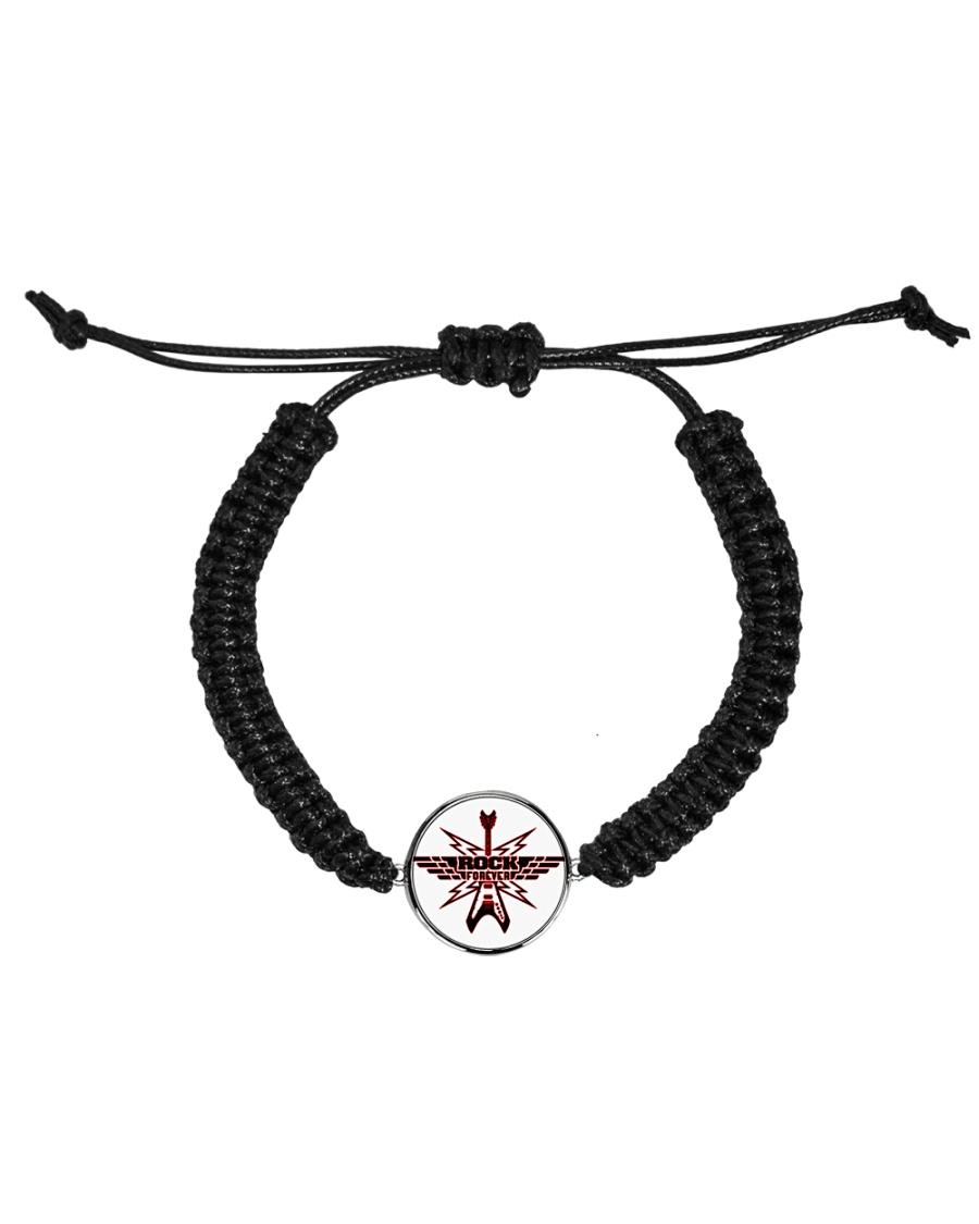 Rock Forever Cord Circle Bracelet