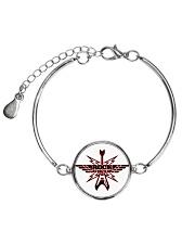 Rock Forever Metallic Circle Bracelet front