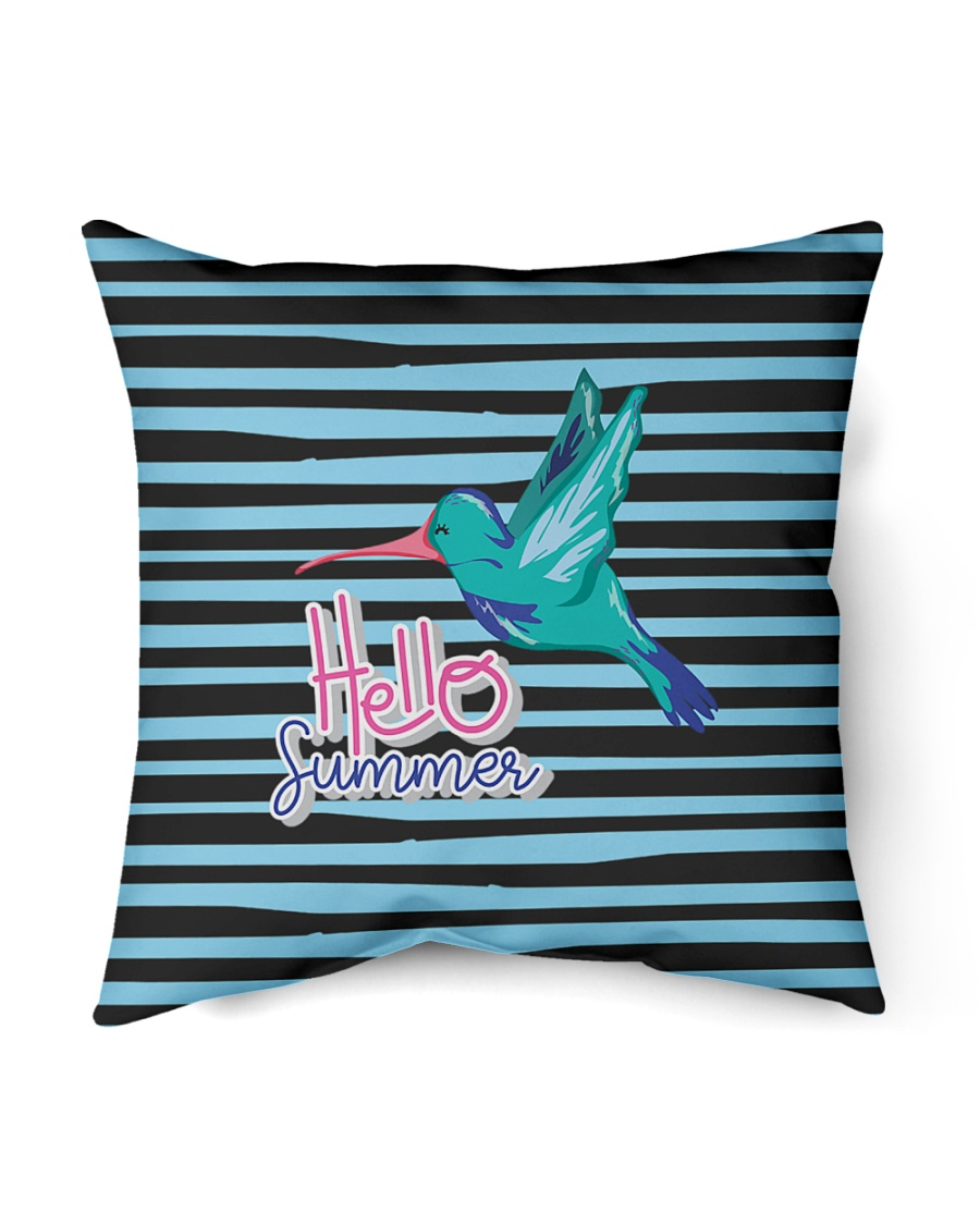 "Hello Summer Decorative Pillow Indoor Pillow - 16"" x 16"""