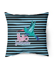 "Hello Summer Decorative Pillow Indoor Pillow - 16"" x 16"" front"