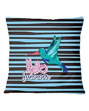 Hello Summer Decorative Pillow Square Pillowcase thumbnail