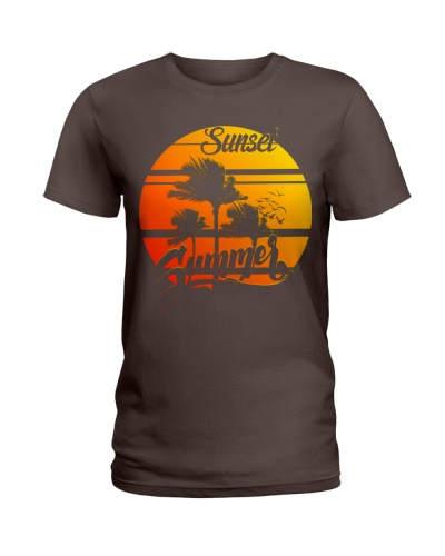 Summer Sunset Funny T-shirt