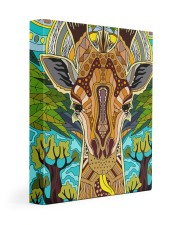 African Giraffe 11x14 Gallery Wrapped Canvas Prints thumbnail