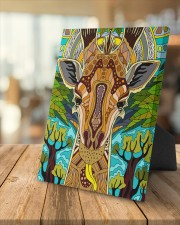 African Giraffe 8x10 Easel-Back Gallery Wrapped Canvas aos-easel-back-canvas-pgw-8x10-lifestyle-front-04