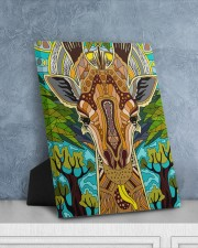 African Giraffe 8x10 Easel-Back Gallery Wrapped Canvas aos-easel-back-canvas-pgw-8x10-lifestyle-front-06