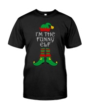 I'm The Funny Elf Matching Family Christmas Premium Fit Mens Tee thumbnail