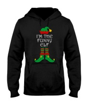 I'm The Funny Elf Matching Family Christmas Hooded Sweatshirt thumbnail