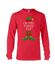I'm The Funny Elf Matching Family Christmas Long Sleeve Tee thumbnail