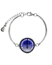 I'm Forever Missing You Husband Metallic Circle Bracelet thumbnail