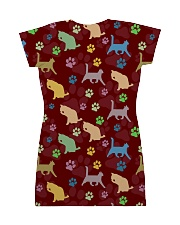 Cat Pattern All Over T-shirt All-over Dress back