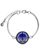 I'm Forever Missing You Mom Metallic Circle Bracelet thumbnail