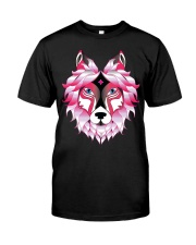 Wolf T-Shirt Premium Fit Mens Tee front