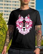 Wolf T-Shirt Premium Fit Mens Tee lifestyle-mens-crewneck-front-8