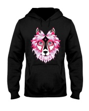 Wolf T-Shirt Hooded Sweatshirt thumbnail